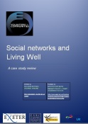 social networks and living well cover